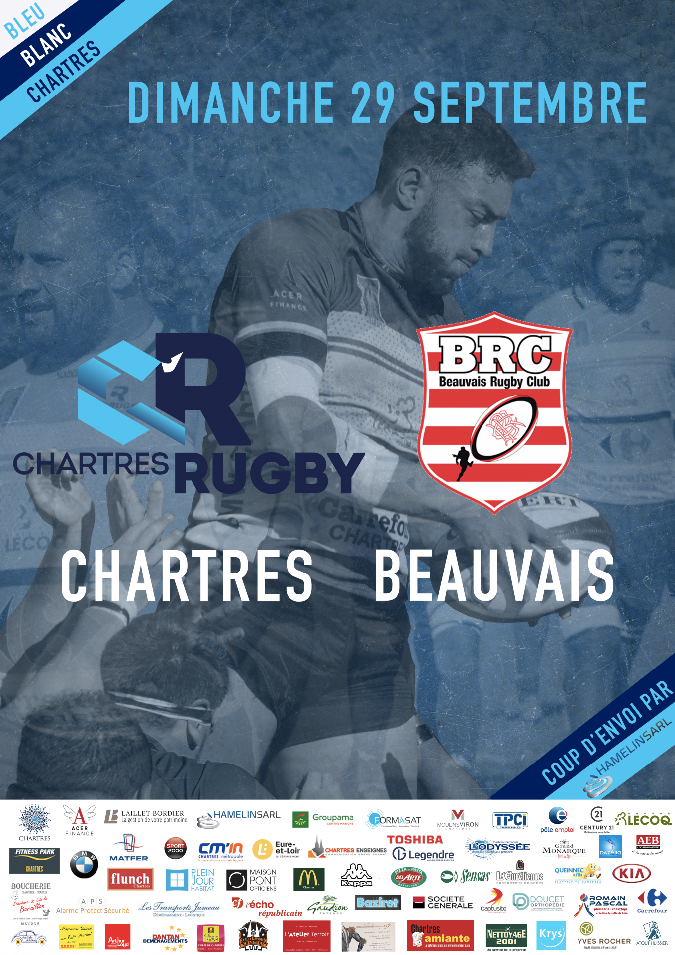 C'Chartres Rugby vs Beauvais