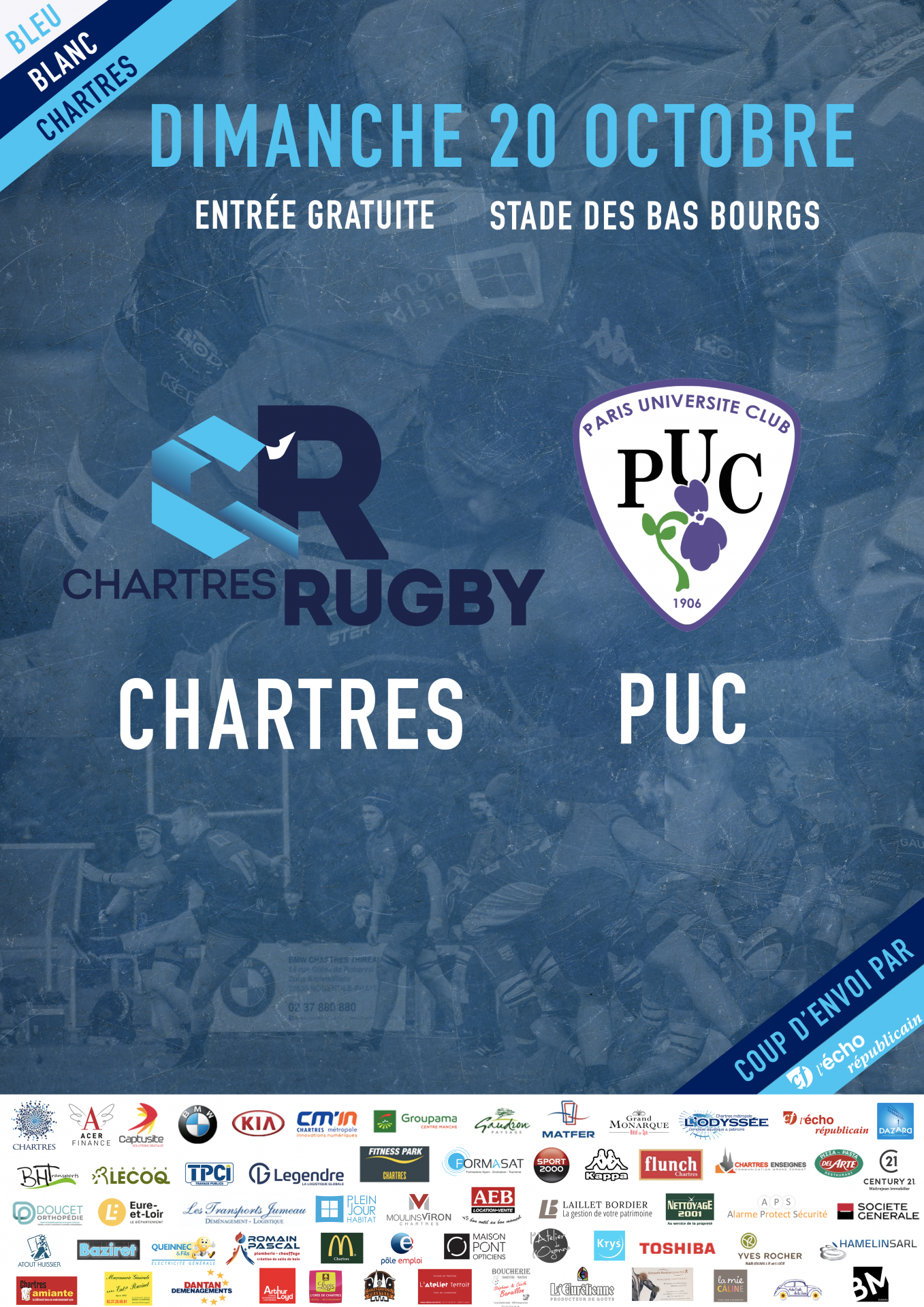C'Chartres Rugby vs PUC