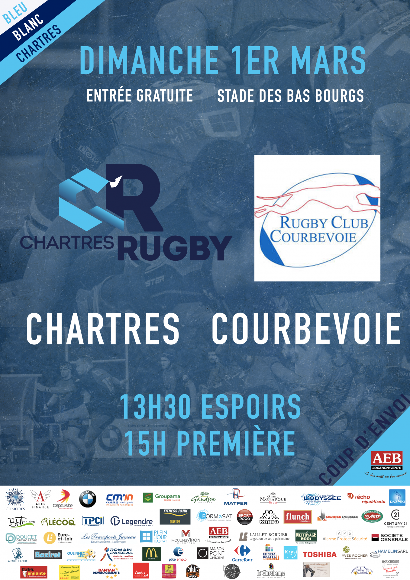 C'Chartres Rugby vs Courbevoie