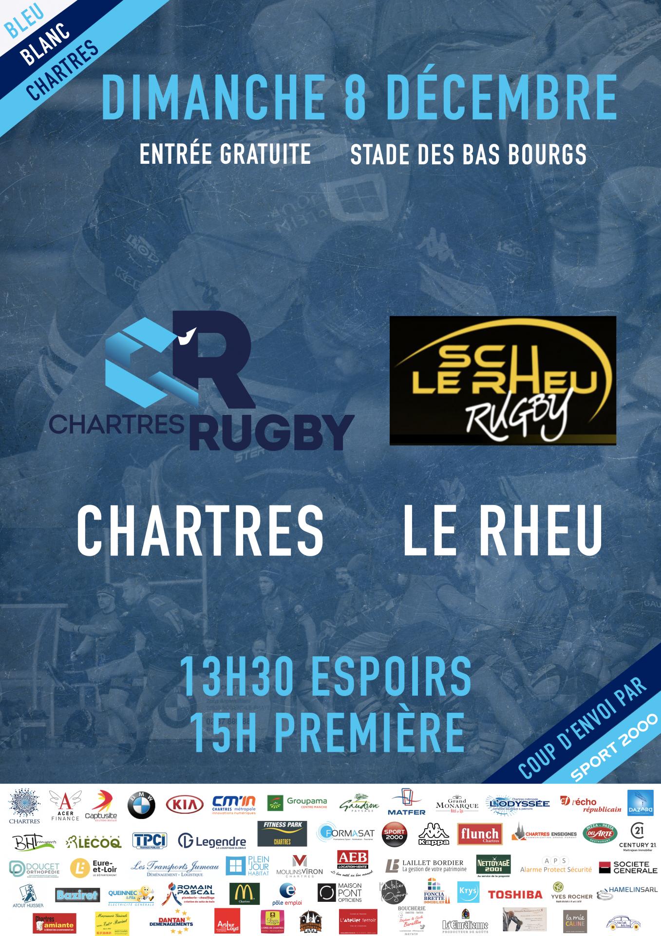 C'Chartres Rugby vs Le Rheu